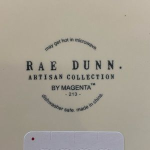 Rae Dunn Other - New! Rae Dunn Nom Nom Large Dog Pet Bowl 8in